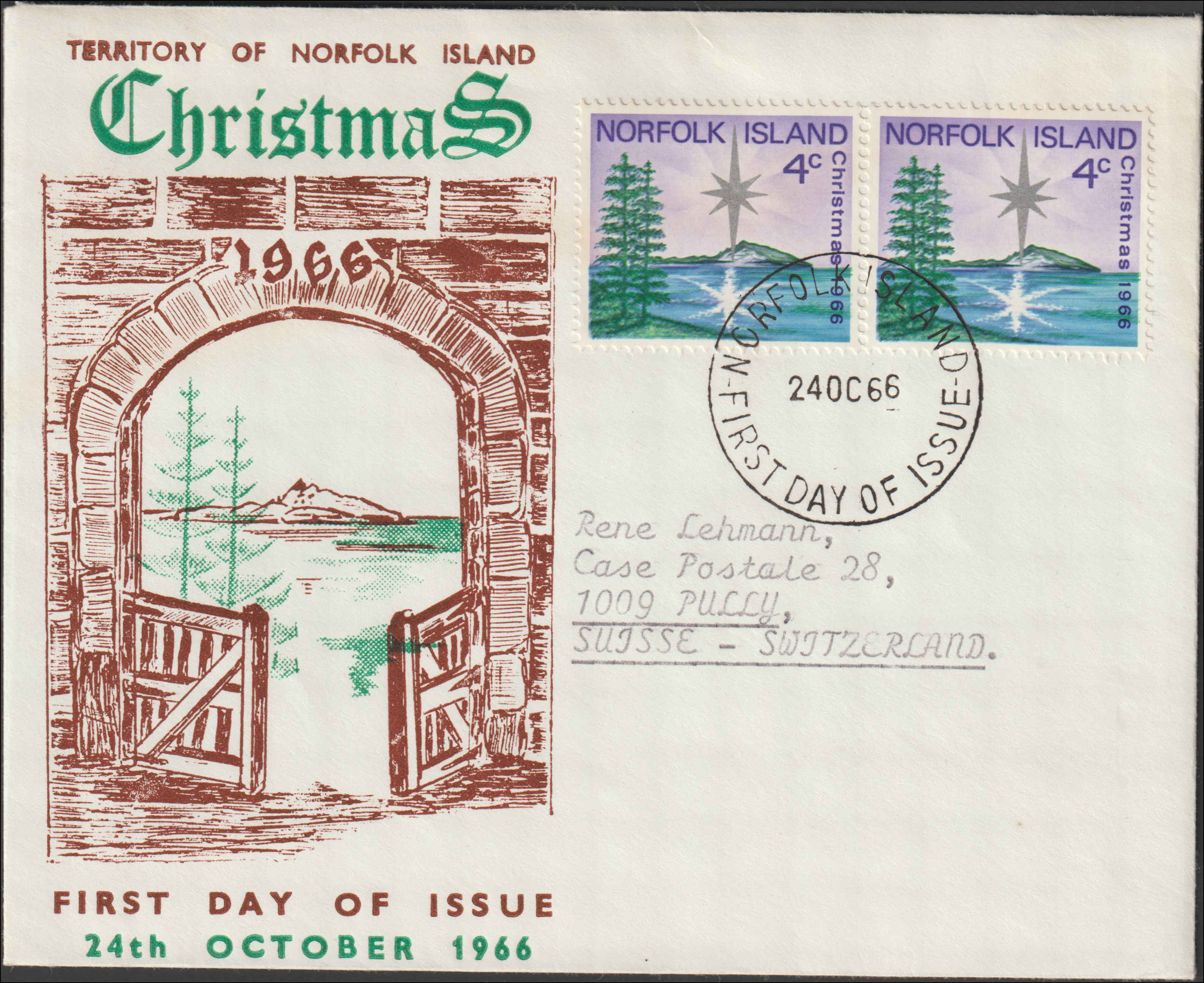 Norfolk Islands, Worldwide First Day Cover Entered 2/28/2019. Price: $1.75. Item #D71290